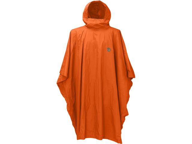 Fjällräven Poncho, safety orange
